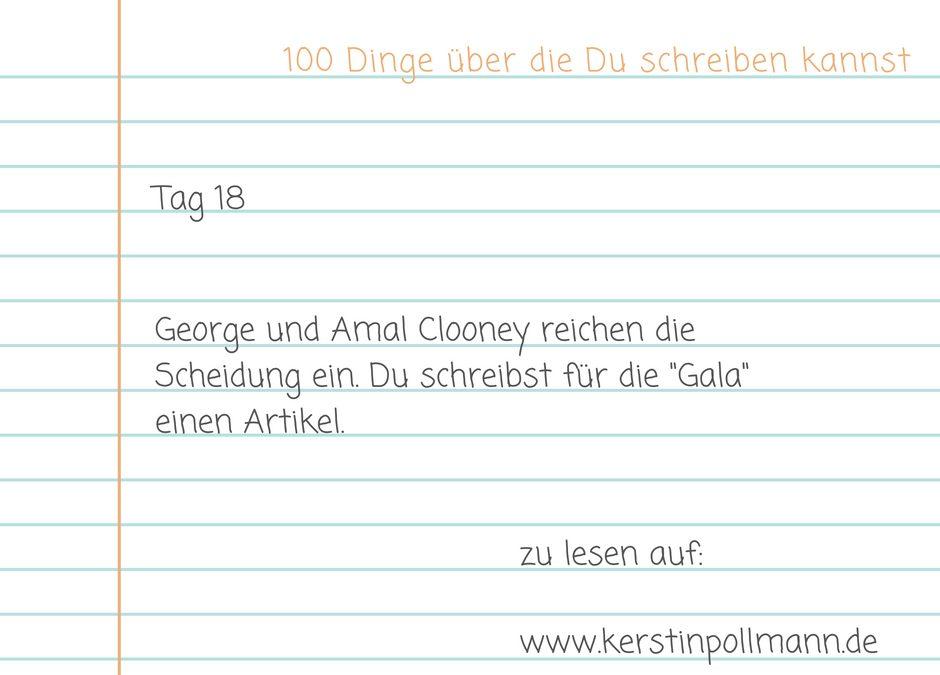 Tag 18 – George und Amal Clooney