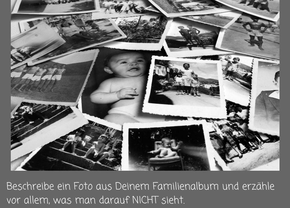 Tag 90 – Beschreibe ein Foto aus Deinem Familienalbum